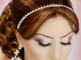 BRIDAL Hairstyle 2011-2012 TREND IN PAKISTAN