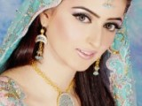 Pakistani Bridal Hairstyles Medium Length 2013 004