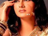 Pakistani Bridal Hairstyles Medium Length 2013 005