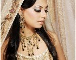Pakistani Bridal Hairstyles Medium Length 2013 007
