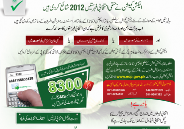 Check voter registration check through sms 8300