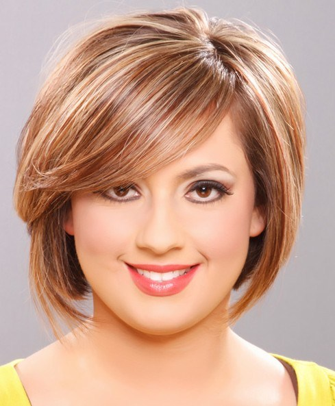 Best Short Hairstyles For Round Face 0017