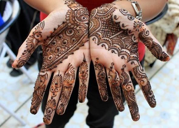 Dulhan Mehndi Design Book : Mehndi designs patterns images book for hand dresses kids
