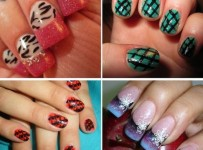 Fancy And Colorful Nail Designs 001