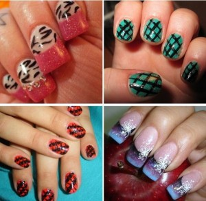 Fancy And Colorful Nail Designs
