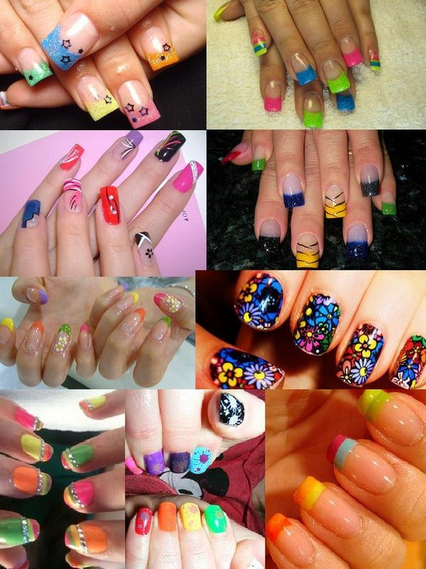 Fancy And Colorful Nail Designs 0014