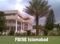 Federal Board FBISE 9th,10th Class Matric Supplementary Result 2012 001