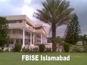 Federal Board FBISE 9th,10th Class Matric Supplementary Result 2012