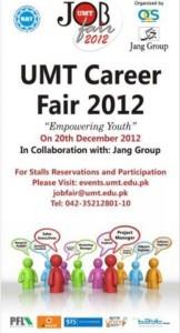 Job Fair 2012 In UMT