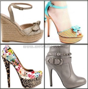 Latest High Heel Shoes Trends 2015 For Girls
