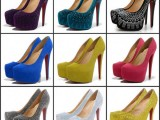 ladies high heel shoes images