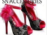 Latest High Heel Shoes Trends 2013 For Girls 006
