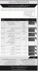Pakistan Military Academy Jobs 2013