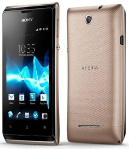 Sony Xperia E With Dual SIM Specification Price In Pakistan