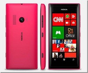 Specifications Of Nokia Lumia 505 With Windows 7.8