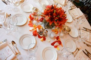 Table Settings for Breakfast, Lunch, Dinner and Buffet