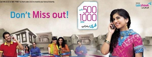 Telenor Talkshawk Offers Free Internet 001