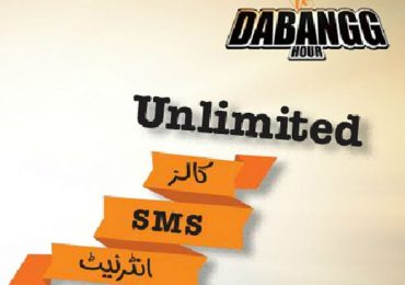 Ufone Introduces Dabangg Hour Offer