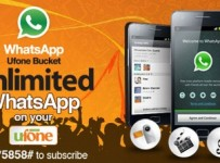 Ufone Offers Unlimited WhatsApp Bucket 001