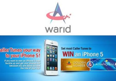 Warid Offers To Win Iphone 5, Golden Number And Nano SIM