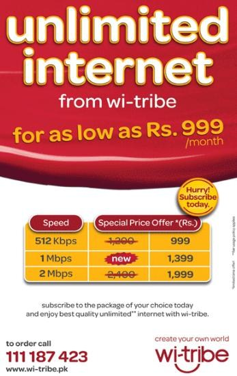 Wi-Tribe Broadband Internet Packages 001