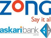 Zong Start Branchless Banking In Pakistan With Askari Bank 001
