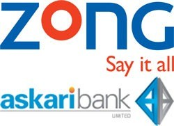 Zong Start Branchless Banking In Pakistan With Askari Bank