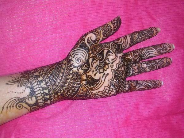 African Bridal Mehndi