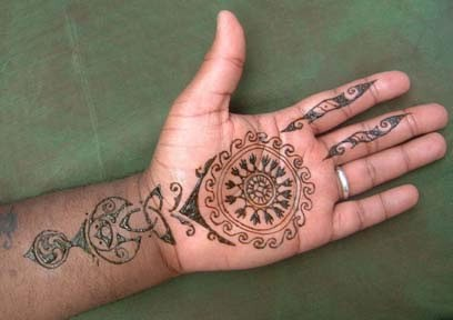 Banarsi Mehndi Designs 005