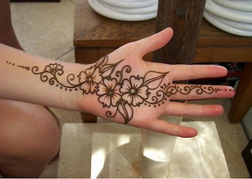30 Easy & Simple Mehndi Designs & Henna Patterns 2012 | Henna Tattoo For Beginners