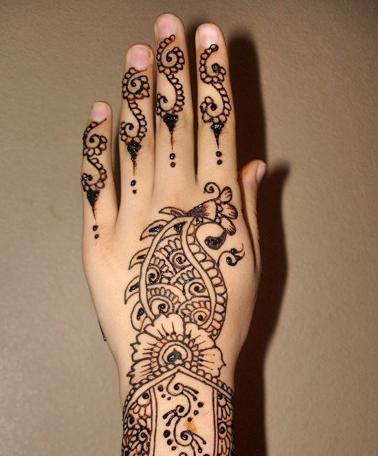 Mehndi Step By Step How To Do It : Henna designs for beginners step by how to draw