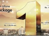 Ufone Postpaid 1 One Package 2013