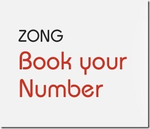 Zong Introduces Online Number Booking Service 001
