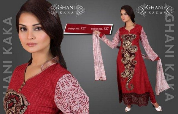 Ghani Textile Spring Summer Collection 2013 For Women 0012