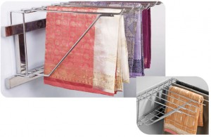 How To Arrange Saree In Wardrobe