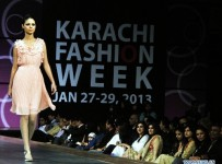 Karachi Fashion Week 2013