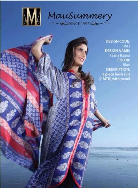 Mausummery Lawn Collection 2013 for Ladies 0010