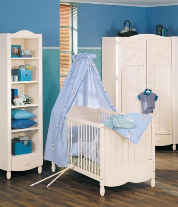 Newborn baby room decorating ideas and pictures for Baby girl crib decoration ideas