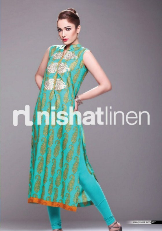 Nishat Linen Spring Summer Lawn Collection 2013 0026
