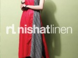 Nishat Linen Spring Summer Lawn Collection 2013 004