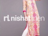 Nishat Linen Spring Summer Lawn Collection 2013 009