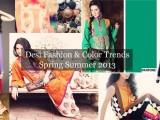 Pakistan Summer Spring Fashion Trend 2013