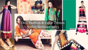 Pakistan Summer Spring Fashion Trend 2013