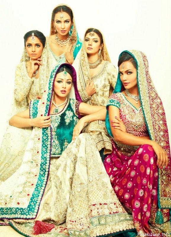 pakistani bridal dresses 2013 latest fashion trends