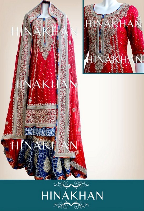 Traditional Pakistani Bridal Dresses Collection 2013