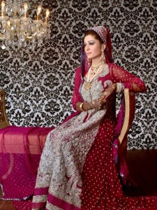 Pakistani Bridal Dresses 2015 Pictures