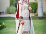 bridal wear pakistani gharara