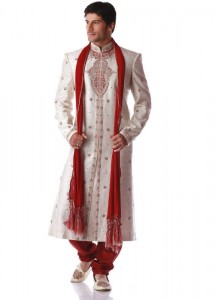Pakistani Designer Groom Sherwani Designs 2013