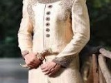 Pakistani Designer Groom Sherwani Designs 2013 0010