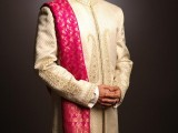 Pakistani Designer Groom Sherwani Designs 2013 0011